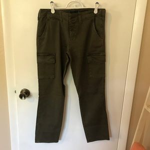 Sanctuary Brand Olive Green Cargo Pants. 30.